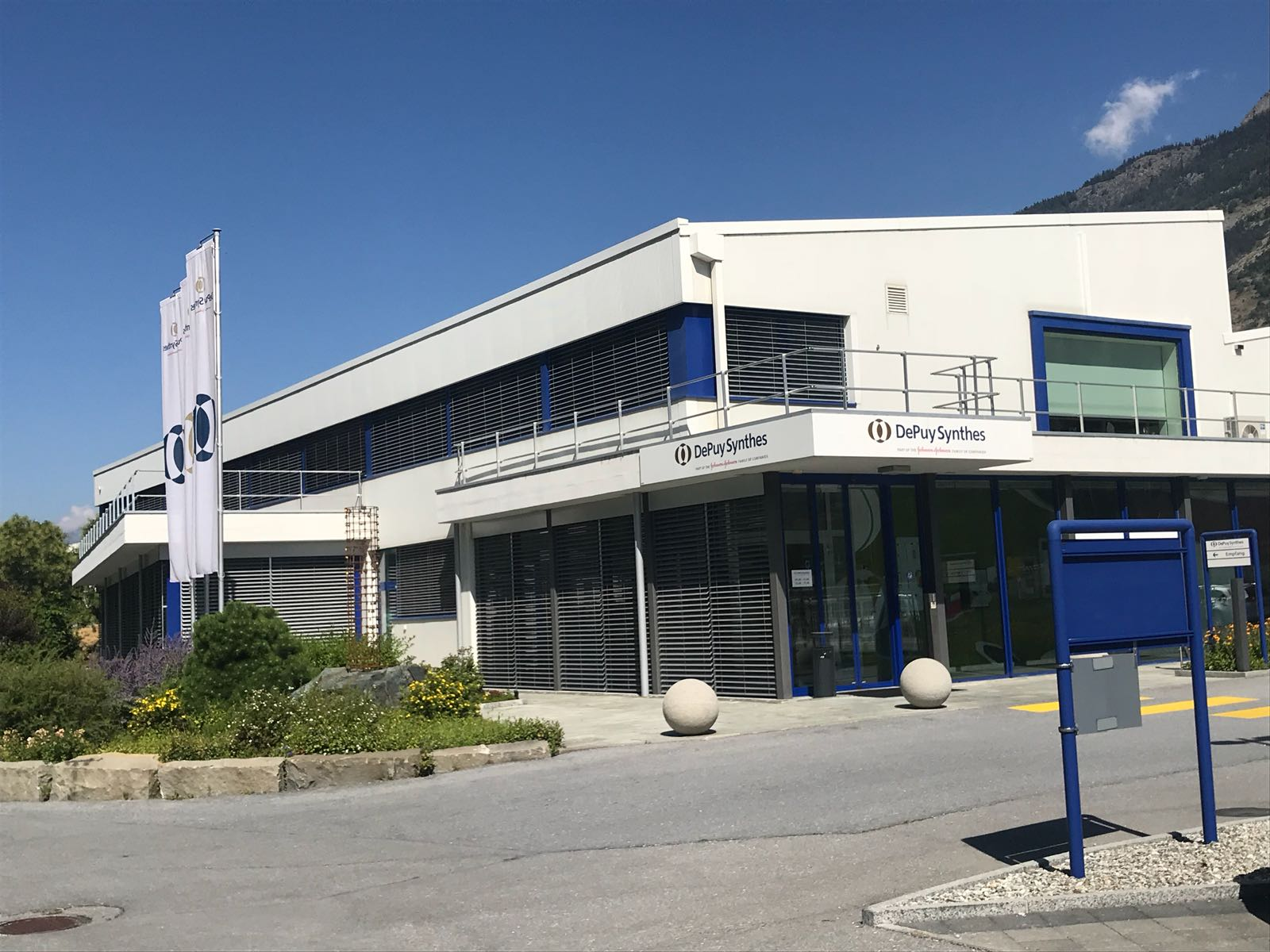 Büro Gewerbe Synthes Raron 2007