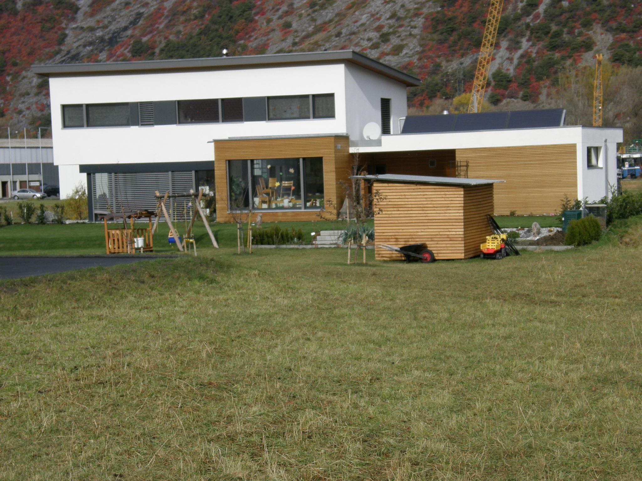 2 Einfamilienhäuser in Turtmann, Baujahr 2007_2008