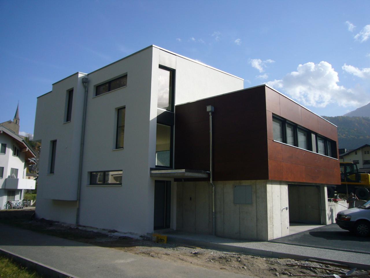 EFH in Raron, Baujahr 2008