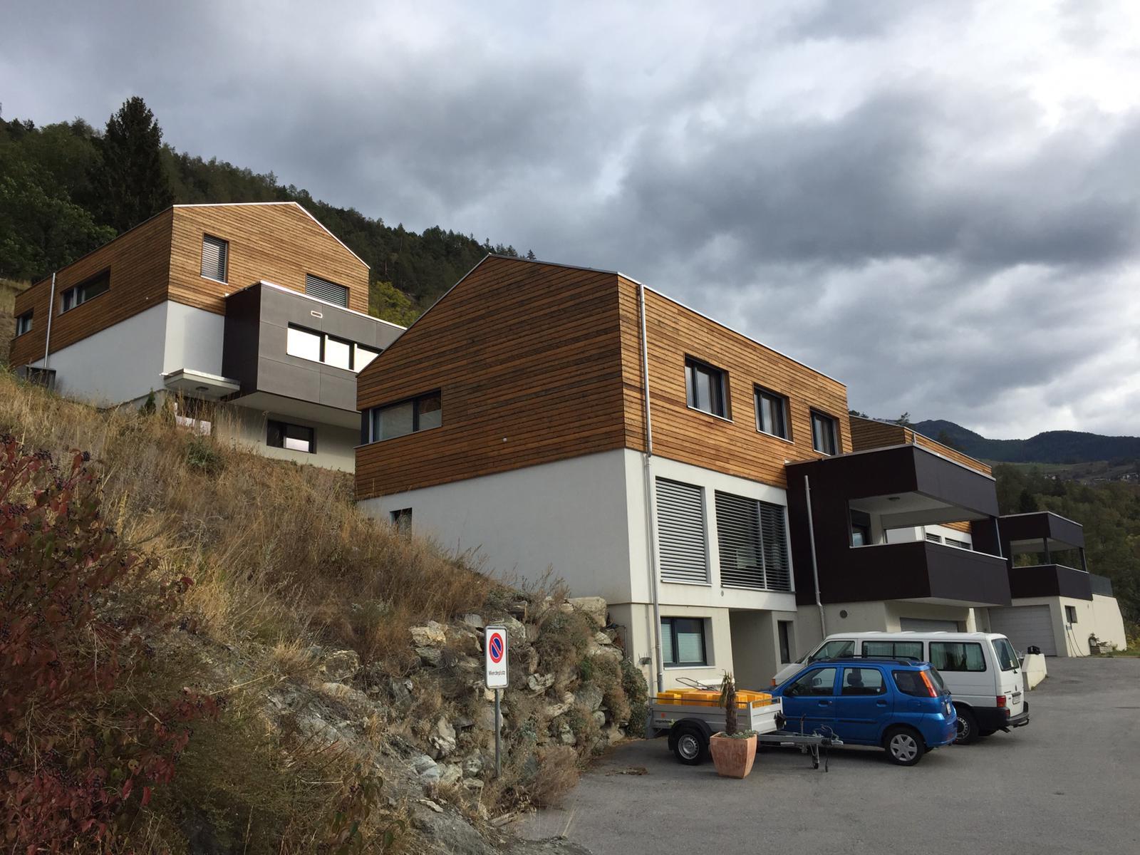 3 Einfamilienhäuser in Oberstalden, Baujahr 2010