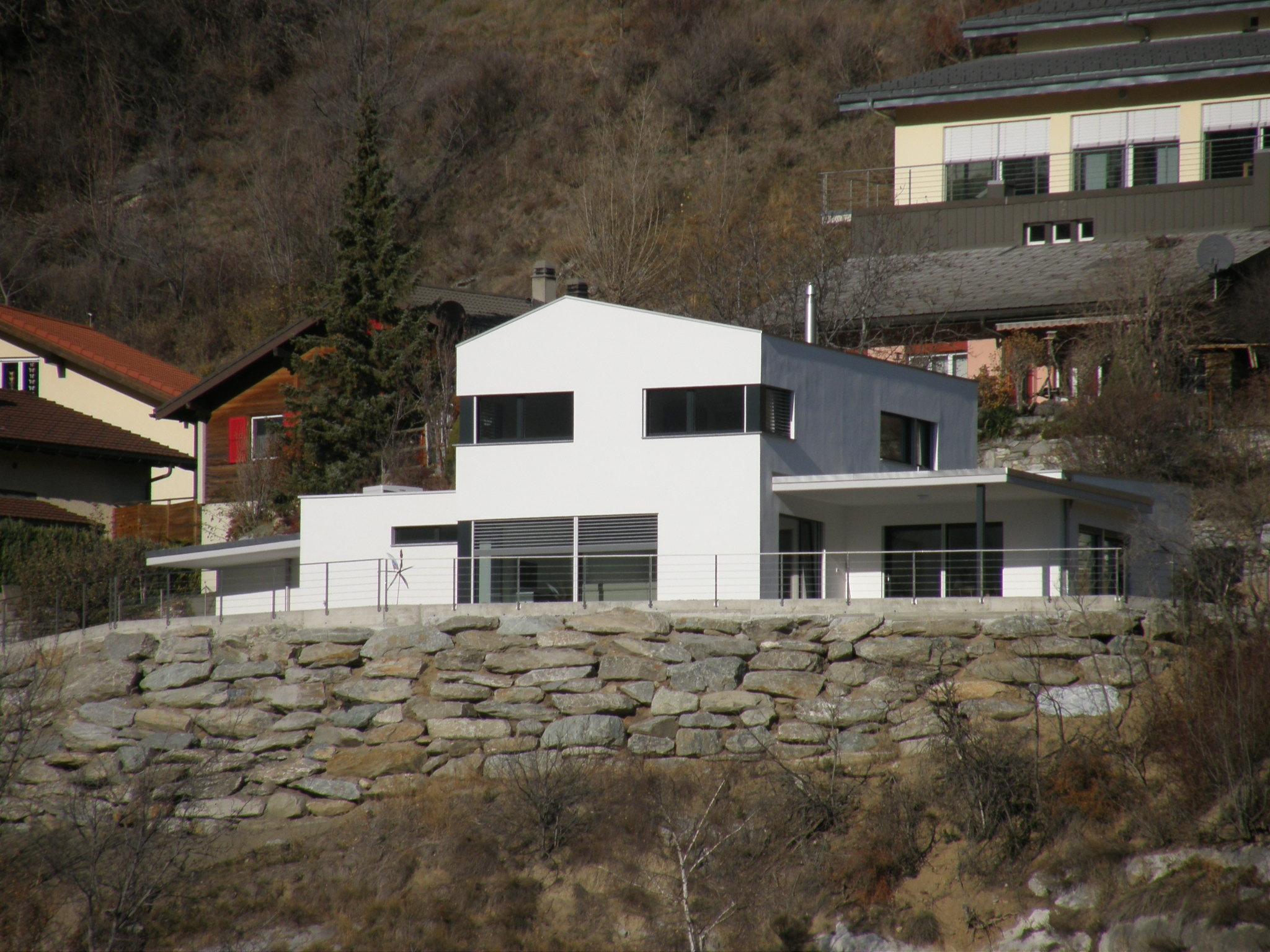 EFH in Niedergesteln, Baujahr 2011